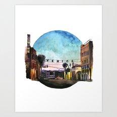 Venice On My Mind Art Print