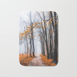 To Travel The Path Unknown Bath Mat