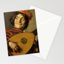 """Frans Hals """"The Lute Player"""" Stationery Cards"""