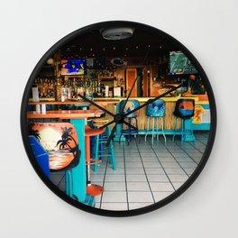 Beach Bar Wall Clock