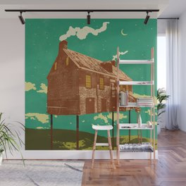 RIVER HOUSE Wall Mural