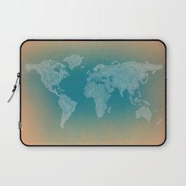 It's a Big ol' World - Pointilist Artwork Laptop Sleeve