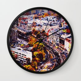 Streets of Berlin Wall Clock