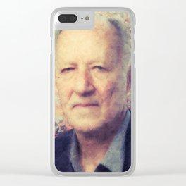 Werner Herzog Clear iPhone Case