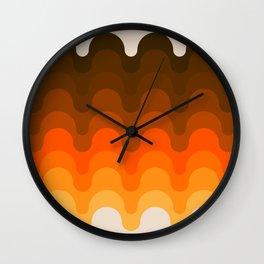 Julio - Golden Wall Clock