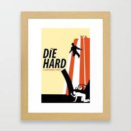 Die Hard - A Christmas Carol Framed Art Print