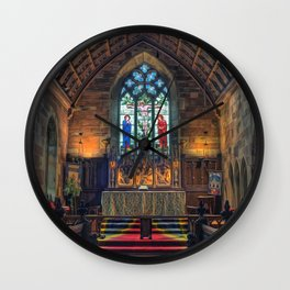 Angels Light Wall Clock