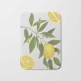 Lemon Tree Bath Mat