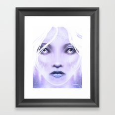 Christmasface Framed Art Print