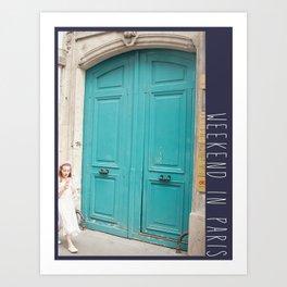 Photo: Weekend in Paris (8 June 13) Art Print