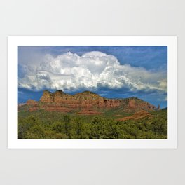 Monsoon Clouds over Sedona by Reay of Light Photography Art Print