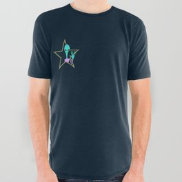 intergalactic planetary All Over Graphic Tee