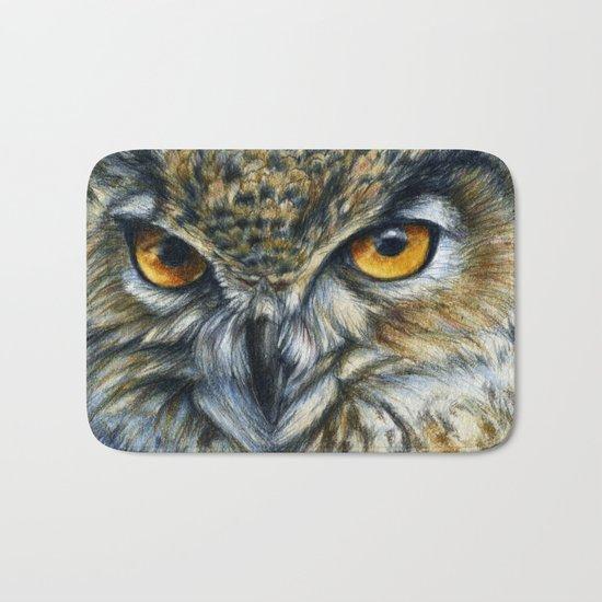 Owl 811 Bath Mat