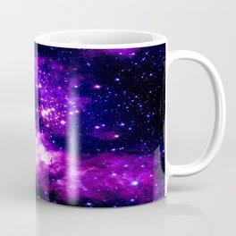 Purple Galaxy : Celestial Fireworks Coffee Mug