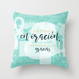Prayer verse Throw Pillow
