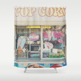 Cotton Candy & carnival food ... Shower Curtain