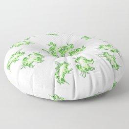 Lighting mandala Floor Pillow