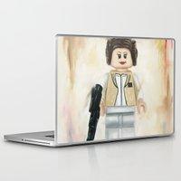 princess leia Laptop & iPad Skins featuring Lego Princess Leia by Toys 'R' Art