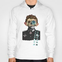 justin timberlake Hoodies featuring War Collage 2 by Marko Köppe