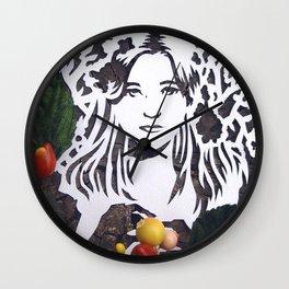Spring Sprite Wall Clock