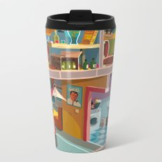 Greetings from Budapest Metal Travel Mug