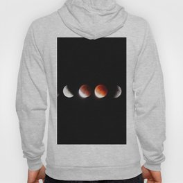 The Phases of the Moon (Color) Hoody