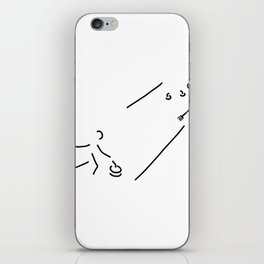 curling curling winter sports iPhone Skin
