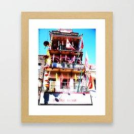 LittleBig China Framed Art Print