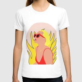 summer fire T-shirt