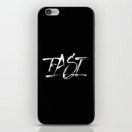 Fast iPhone Skin
