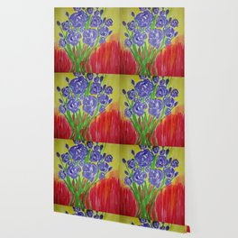 Purple Rose Bouquet Wallpaper