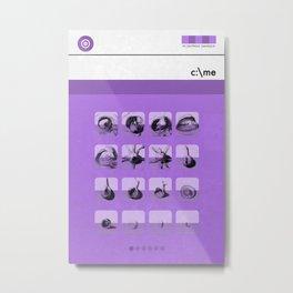 c:\me (MetaBook) Metal Print