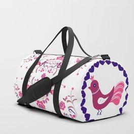 Hungarian folk art Duffle Bag