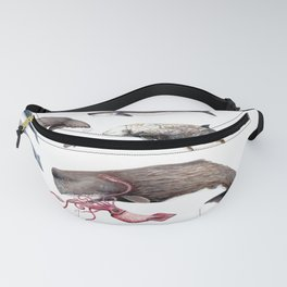 Deep sea whales Fanny Pack
