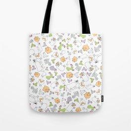 The Little Farm Animals Tote Bag