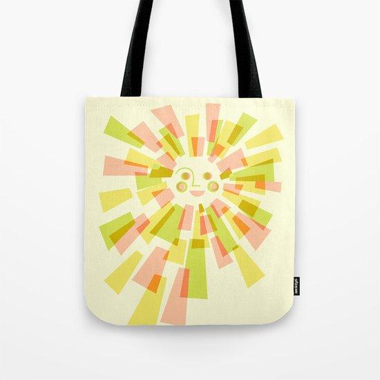 Sunburst Warm Tote Bag