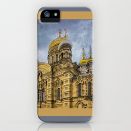 Church of the Assumption of the Blessed Virgin Mary - St. Petersburg iPhone Case