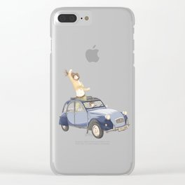 Freedom Drive Clear iPhone Case