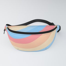 Rainbow Stripes 5 Fanny Pack