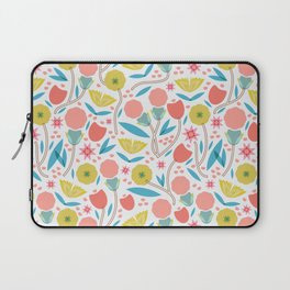 Geometric Floral Pattern Laptop Sleeve