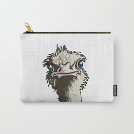 Grumpy Ostrich Carry-All Pouch