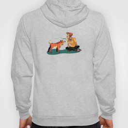 pet the dog Hoody