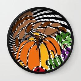 A PUZZLING OF PLENTY Wall Clock
