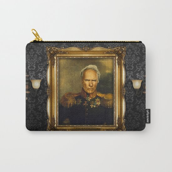 Clint Eastwood - replaceface Carry-All Pouch