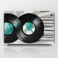 vinyl iPad Cases featuring infinite vinyl by Vin Zzep