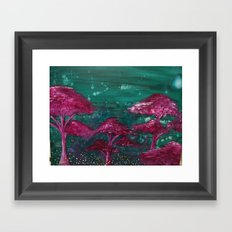 Fireflies and Will o' Wisps Framed Art Print