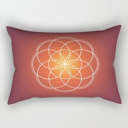 Seed of Life Rectangular Pillow