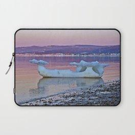 Viking Ice Ship Portrait Laptop Sleeve