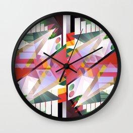 Segment 11 Wall Clock