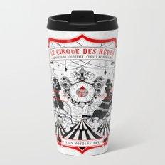 The Night Circus - light Metal Travel Mug